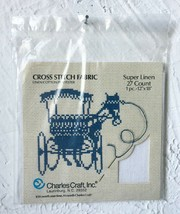 """Charles Craft Super Linen White 27 Count Linen/Cotton/Poly Fabric - 12"""" ... - $5.65"""