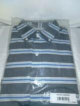 Amazon Essentials B07N3J Men Button Down Collar Stripe Slim fit Shirt /Gray /X S