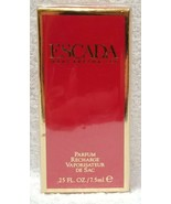 Escada MARGARETHA LEY Parfum Purse Spray Refill Recharge De Sac .25 oz/7... - $89.09