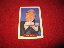 1993 - 13 Dead End Drive Board Game Piece: The Butler Character Card - $1.00