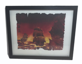"Disney ""Pirates of the Caribbean"" Ships Framed Limited Edition Lithograp... - $28.71"