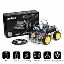 OSOYOO Robot Smart Car for Arduino DIY Learning Kit with Tutorial Androi... - $95.98