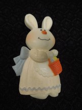 Vintage Hallmark 1975 Bernadette Bunny Lapel Pin - HARD-TO-FIND Rabbit Easter - $13.37