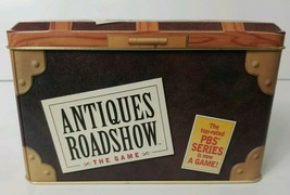 Antiques Roadshow The Game in A Tin 2000 Hasbro the Game of PBS TV Show - $12.64