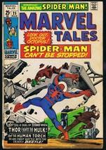 Marvel Tales #25 ORIGINAL Vintage 1970 Marvel Comics Spider-Man Thor vs ... - $18.55