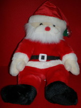 "NWMT Ty Santa Claus Beanie Buddy XMAS Collectors Quality New Retired 2000 15"" - $9.99"
