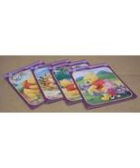 Mega Brands Winnie the Pooh Jigsaw Puzzles Lot of 4 45-113-17r * Cardboard - $18.45