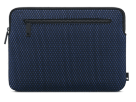 "Incase Compact Sleeve For MacBook12"" Black Navy Blue Nylon Mesh NEW"