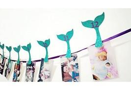 Mermaid Photo Banner, Sweet Heart First Birthday Photo Banner, Justborn ... - ₨1,040.95 INR