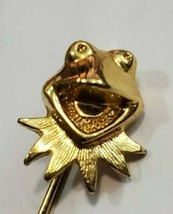 1980 RARE Vintage Kermit the Frog Stick Pin gold tone untested. - £28.55 GBP