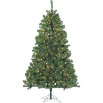 Sterling Montana Pine 7' Pre‑Lit Christmas Tree with stand  NEW Open Box - $159.99