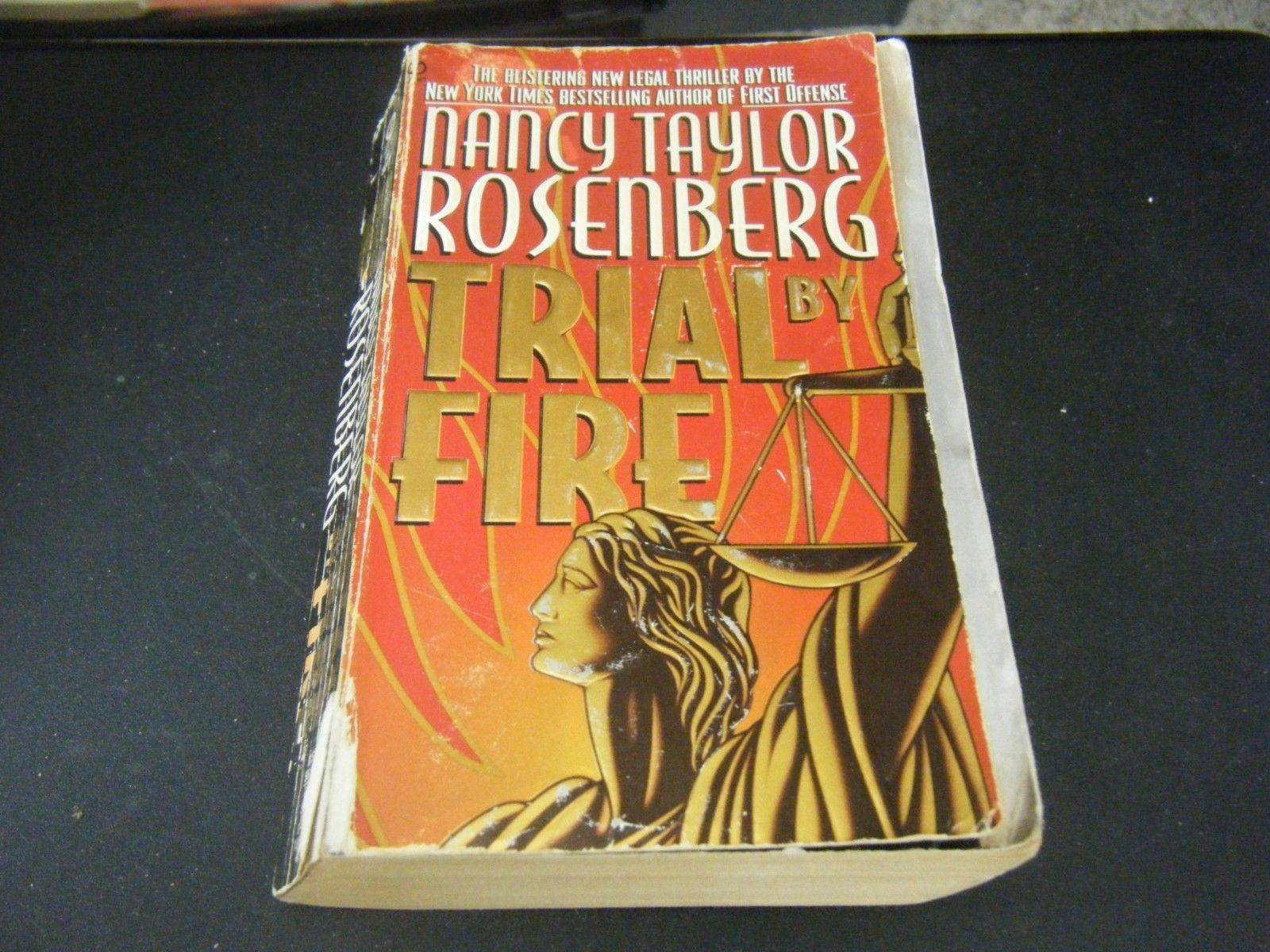 Primary image for Trial by Fire by Nancy Taylor (1996, Paperback)