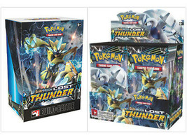 Lost Thunder Booster Box + Prerelease Kit Pokemon TCG Trading Cards Sun & Moon - $144.99