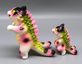 Max Toy Pink Spotted Odd-Eye Negora and Micro Negora w/ Fish - Rare image 6