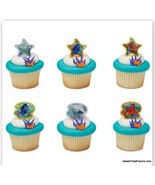 Finding Nemo Dory CupCake Cake Topper 12 18 24 Favor Decoration Ocean Mo... - $7.87+
