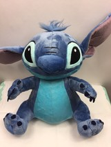 "Disney Store Lilo & Stitch Plush Stuffed Animal Blue Monster 13"" - $15.83"