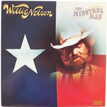 "Willie Nelson ""The Minstrel Man"" LP Vinyl Record Album, RCA, 1981, Excel... - $9.99"
