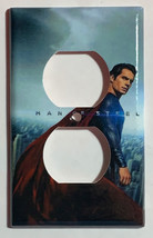 Superman Man of Steel Light Switch and Duplex Outlet Cover Plate image 2