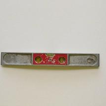 "Vintage Stanley Handyman No. H1291 Three Way 9"" Aluminum Torpedo Level USA - $14.50"