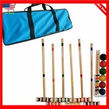 Bud Light Trademark Global Croquet Set with Carrying Case- Various Licen... - $36.62