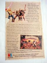 1992 Ad Milton Bradley Hero Quest Game - $9.99