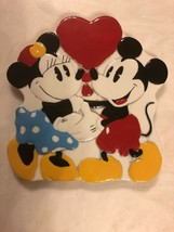 Disney Treasure Craft Made In Mexico Mini And Mickey Mouse Plaque - $15.83