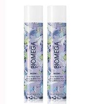 Aquage Biomega Glow Sheer Shine Spray 6oz Two Pack Deal! - $44.55