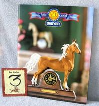 Breyer    2000 DEALERS CATALOG   ASB clock horse    Nice & Glossy  9 x 11 - $7.99