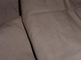 "Classic Denim 60"" Wide Coffee Brown Cotton Twill Weight 8+ Medium Denim Jean Fab - $9.99"