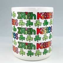 Enesco Irish Kisses Mug Shamrocks Ceramic Coffee Cup Love N Stuff Davenp... - $15.95