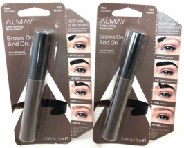 Almay Brows On and On Brow Color, #020 Brown (Pack of 2) BRAND NEW IN BOX - $9.52