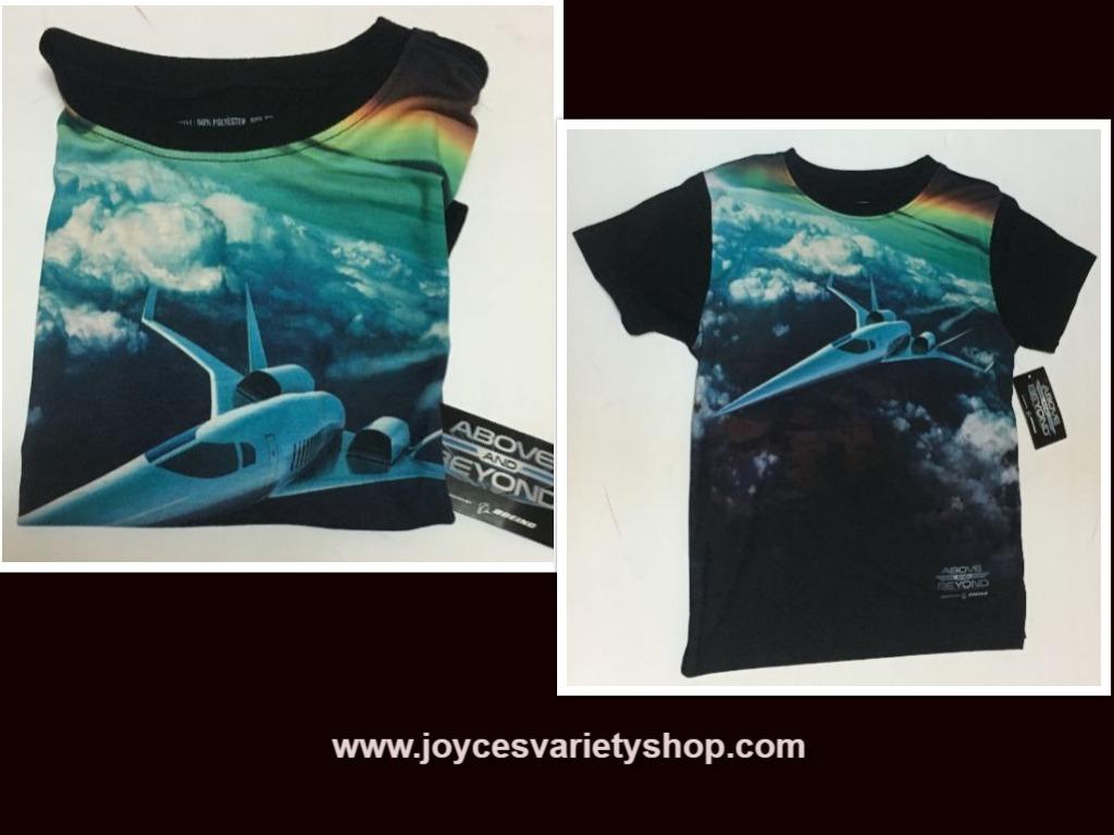 Boeing kids shirt web collage