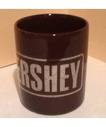 Vintage Hersheys Logo Coffee Mug Brown Staffordshire Kiln Craft Made In ... - $21.77
