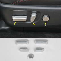 6*Seat Adjustment Button decoration Cover Trim For Toyota 4Runner 2017-1... - $25.73