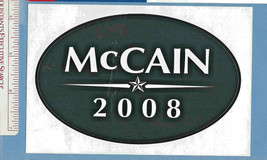 JOHN McCAIN - OFFICIAL BUMPER STICKER 2008 & Flyer for NH Primary (#73) - $4.45