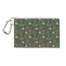 Christmas Tree Canvas Zip Pouch - $14.99+