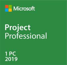 Microsoft Project 2019 Pro - Windows 10 - 1PC- Lifetime - $15.49