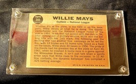 Willie Mays Baseball Trading Card # 395 Outfield- Nash AA19-BTC4006 Vintage Coll image 2