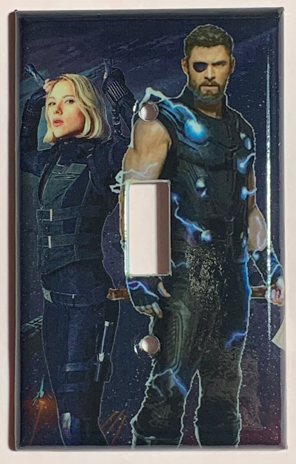 Infinity war thor black widow toggle single