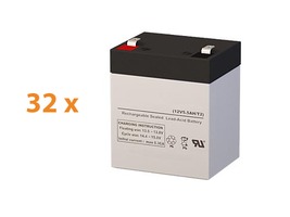 Apc SRT10KRMXLT Ups Battery Set (Replacement) By Sigmas Tek - 12v 5.5AH - $556.62