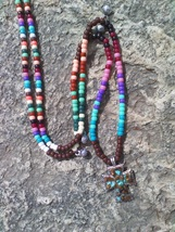 SOUTHWEST TRAILS ~ HORSE RHYTHM BEADS ~ Horse Size / Approx. 54 Inches - $39.00