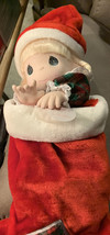 Vintage Precious moments company doll collection (jingles) stocking doll 1997 - $24.24