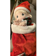 Vintage Precious moments company doll collection (jingles) stocking doll... - $24.24