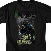 Batman t-shirt DC Comic book Superhero skulls graphic cotton tee BM1843 image 2