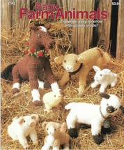 Crochet Pattern Booklet-Baby Farm Animals-Easy To Follow Instructions - $7.66