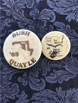 Lot of 18 Political Buttons Pinback Nixon Johnson Obama Carter Dole Bush Agnew image 4
