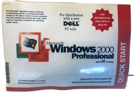 New Microsoft Windows 2000 Professional Reinstallation CD*W2K + SP2*FREE... - $24.95