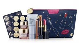Estee Lauder Astrology Lift Your Look 7 Pc Gift Bag Makeup Skincare $165 Gwp Nip - $39.99
