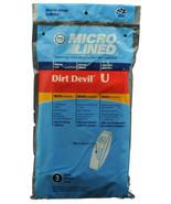 Dirt Devil Type U Vacuum Cleaner Bags 447943 - $4.46