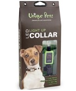 Unique Petz LED light Up Dog Collar Small Red  NEW - $13.99